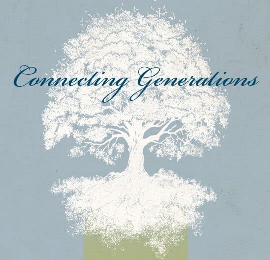 Connecting Generations tree graphic